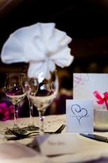 Evening Wedding Reception Table Decorations