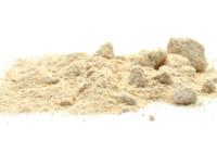 Powdered hazelnuts