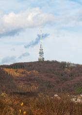 TV tower Kamzik in Bratislava