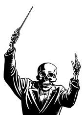 Skeleton Conductor