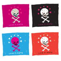 Funny Skull Pirate Flag
