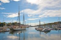 Harbor in Camden, Maine.