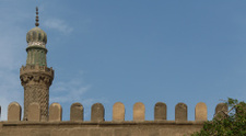 minaret on wall