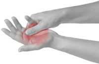 Acute pain in a woman Pain.