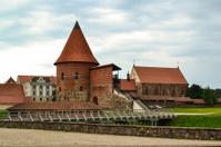 Kaunas castle in Lithuania