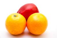 Orange with apple