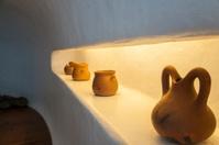 shelf with vases