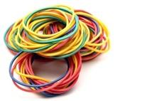 Elastic rubber color