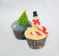Christmas tree cupcake/Christmas  cupcake