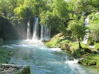 waterfall duden antalya turkey