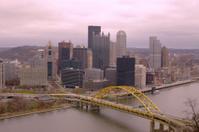 Pittsburgh skyline from Mount Washington.