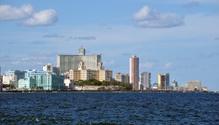 Hotel Nacional from the Malecon, Havana, Cuba