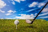Golf stuff on field