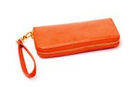New Orange Leather Wallet