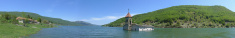 Macedonia Mavrovo Lake Natural Park Panorama