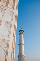 Taj Mahal - Minaret