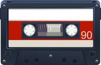 Audio Cassette Retro Tape Recorder