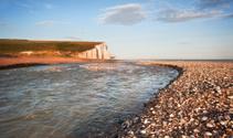 Seven Sisters Cliffs South Downs England landscape