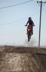 Approaching Dirt Bike