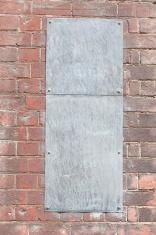 Blank Metal sign