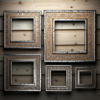 Antique ornament frames