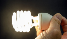 Energy Saving Light Bulb ... Handheld