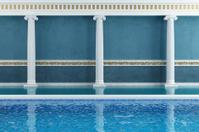 Blue luxury resort