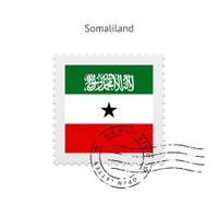 Somaliland Flag Postage Stamp