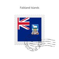 Falkland Islands Flag Postage Stamp