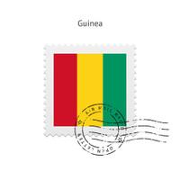 Guinea Flag Postage Stamp
