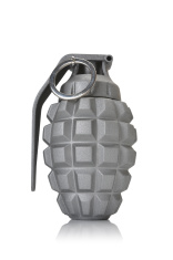 grey hand grenade