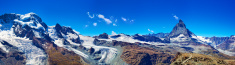 Glaciers panorama