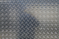 Shiny Aluminium Chequer Plate