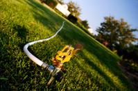 Sprinkler in the Grass