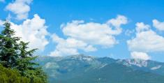 Hills in Crimea