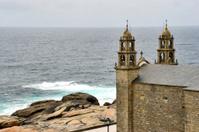 "The churchin Muxia dedicated to ""Nossa Senora da Barca"""