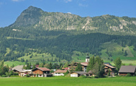 Village of Tannheim,Tirol,Austria