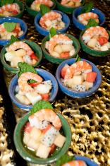 Chinese food, shrimp