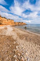 Sa Caleta beach in Ibiza