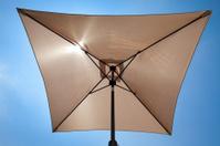 Square Umbrella Shading The Sun
