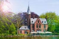 Minnewater - Bruges Belgium