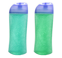 set of shampoo and shower gel