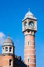 Ghent railway station clock