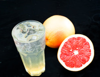 Dessert drinks, tea, fruit