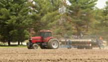 Planting A Farm Field