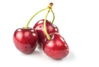 three wonderful cherries