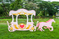 Pink Romantic Carriage (Love Theme)