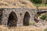 Aqueduct of Nysa Ancient City in Aydin, Turkey