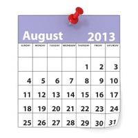 August 2013 - Calendar series