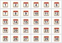 June calendar.